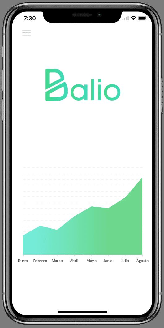 Imagen de Balio, la app para ahorrar y conseguir los objetivos financieros