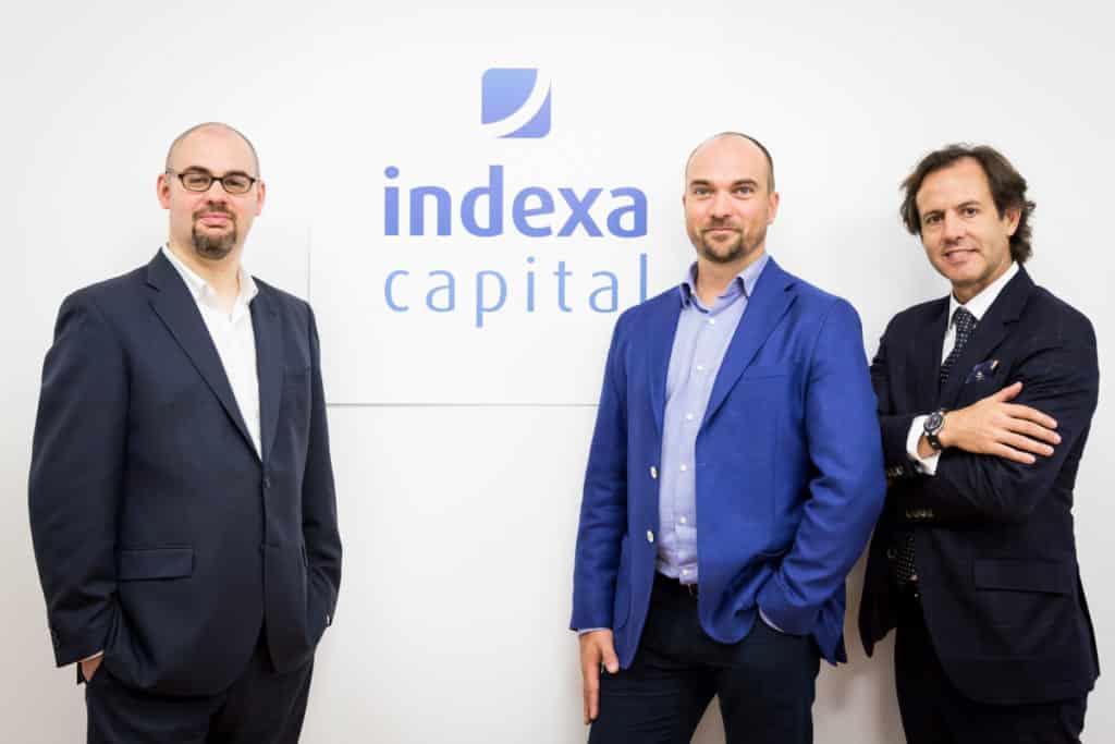 Fotografía del equipo fundador de Indexa Capital y bewa7er market