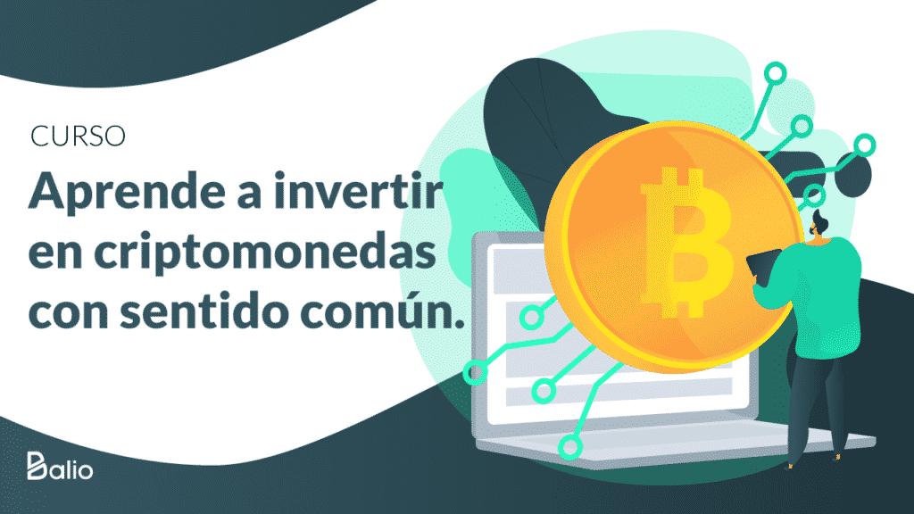 Portada del curso para aprender a invertir en bitcoin y otras criptomonedas de forma inteligente